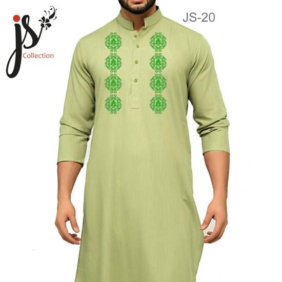 JS Style D # 20 Un-Stitched Kurta
