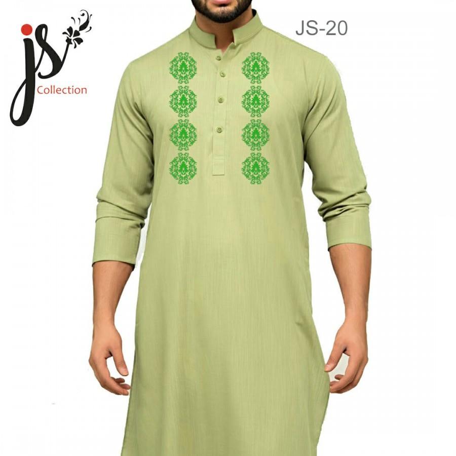 Un-stitched Kurta Shalwar JS Style D-20