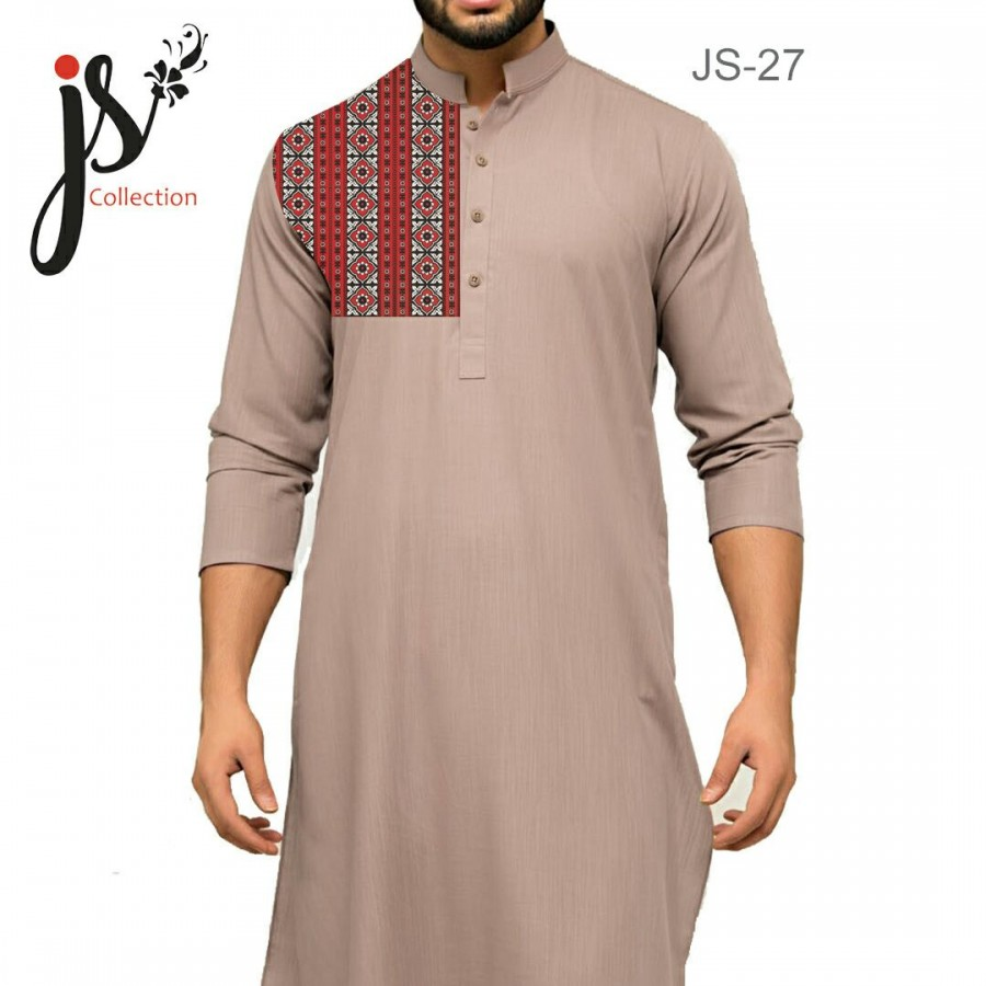 Un-stitched Kurta Shalwar JS Style D-27