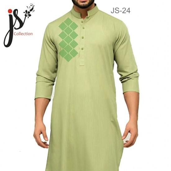 JS Style D # 24 Un-Stitched Kurta