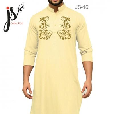 JS Style D # 16 Un-Stitched Kurta