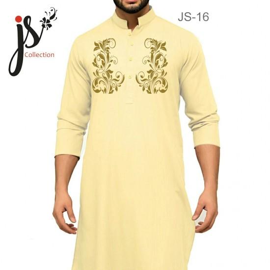 Un-stitched Kurta Shalwar JS Style D-16