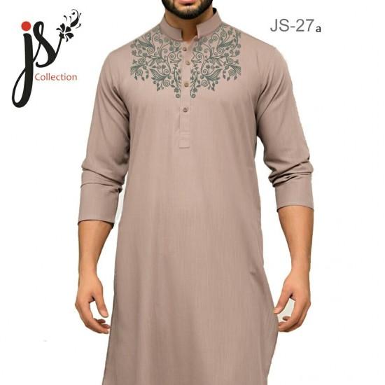Un-stitched Kurta Shalwar JS Style D-27a