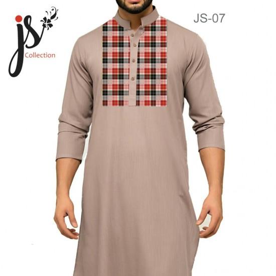 JS Style D # 07 Un-Stitched Kurta