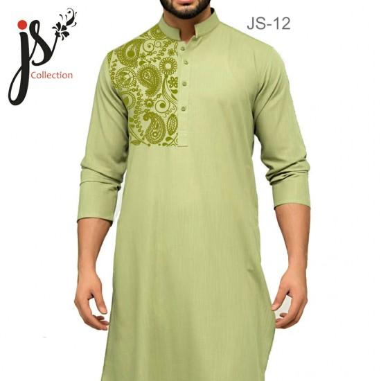 JS Style D # 12 Un-Stitched Kurta