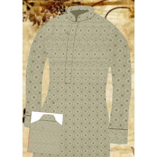 Un-stitched Kurta ONLY HJ Style D-14