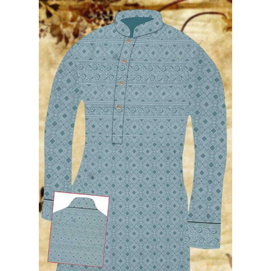 Un-stitched Kurta Shalwar HJ Style D-15