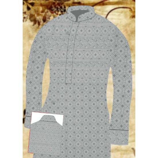 Un-stitched Kurta Shalwar HJ Style D-17