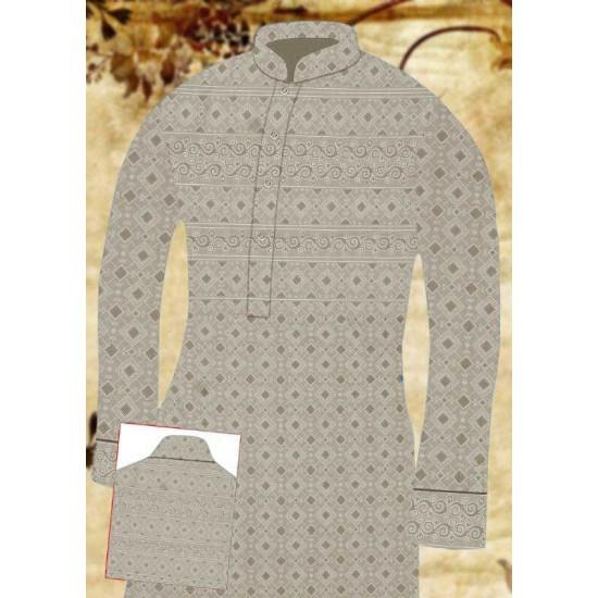 Un-stitched Kurta Shalwar HJ Style D-18