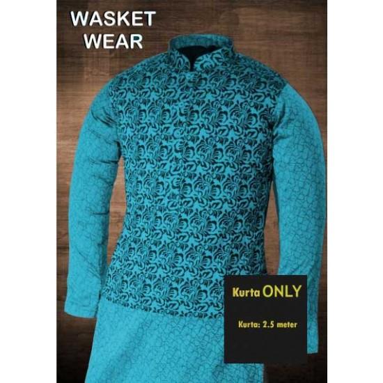 Un-stitched Kurta ONLY HJ Style D-2