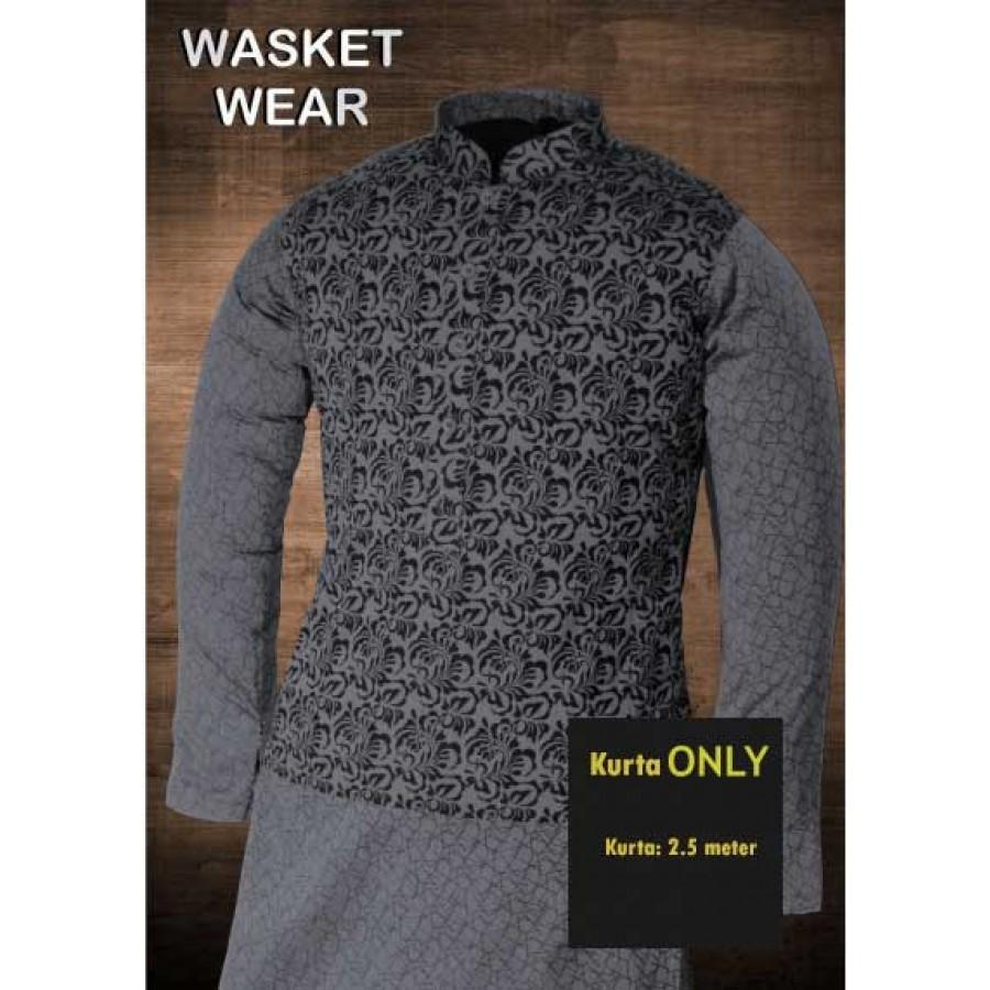 Un-stitched Kurta ONLY HJ Style D-3