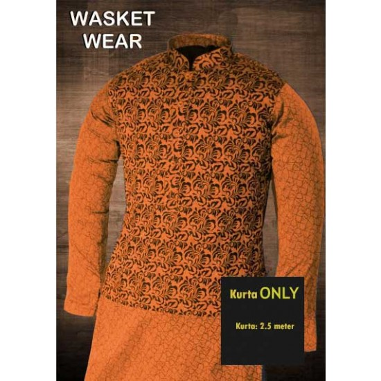Un-stitched Kurta ONLY HJ Style D-4