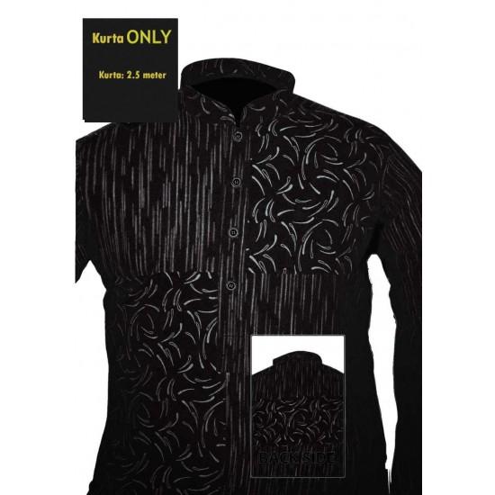 Un-stitched Kurta ONLY HJ Style D-7