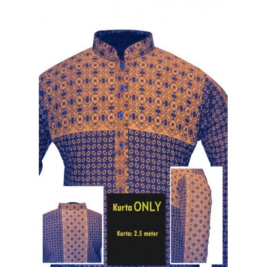 Un-stitched Kurta ONLY HJ Style D-9