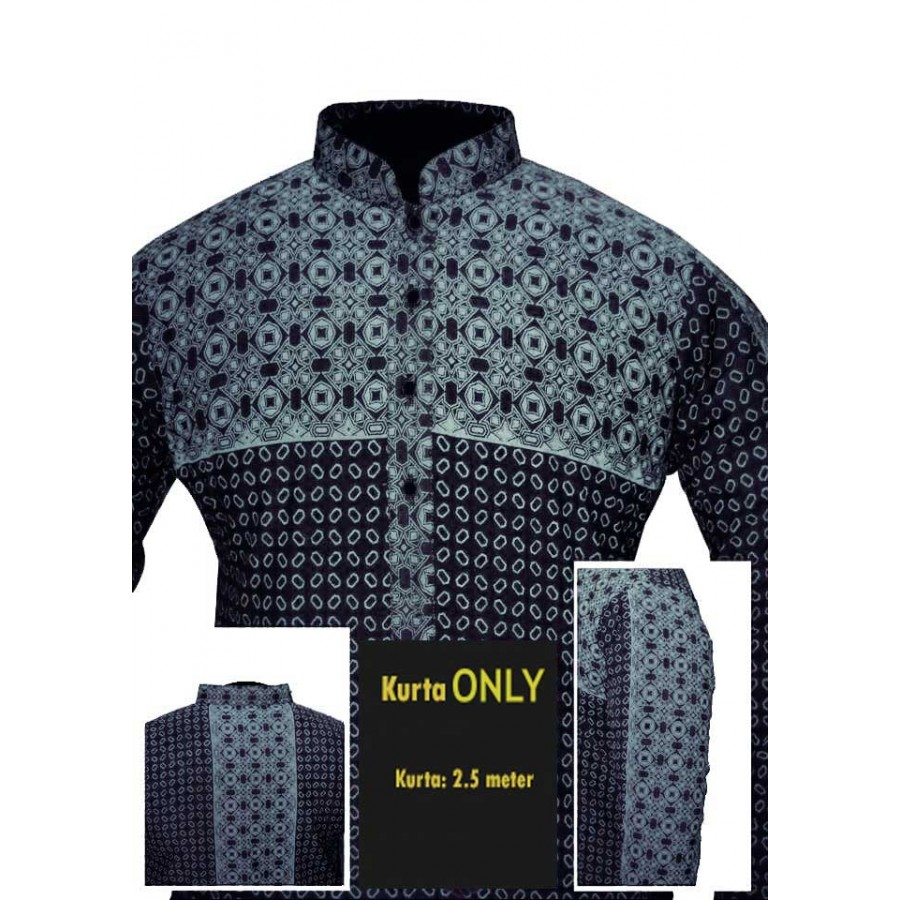 Un-stitched Kurta ONLY HJ Style D-11