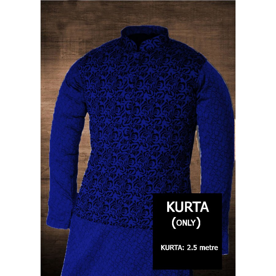 Un-stitched Kurta ONLY HJ Style D-103