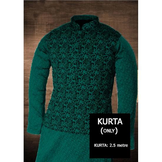 Un-stitched Kurta ONLY HJ Style D-104