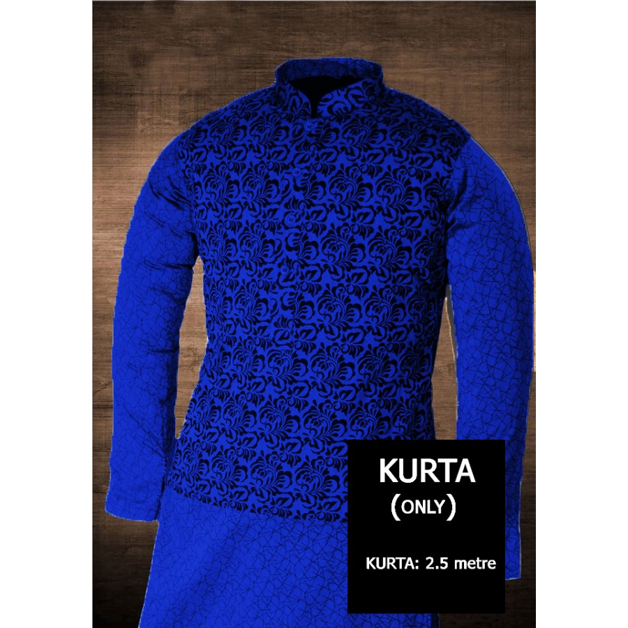 Un-stitched Kurta ONLY HJ Style D-105