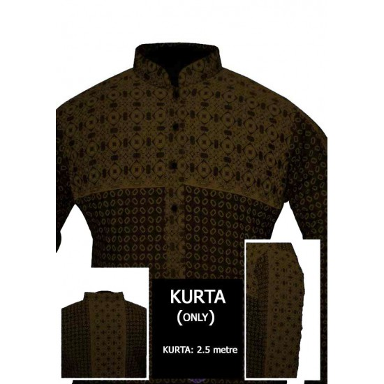 Un-stitched Kurta ONLY HJ Style D-106