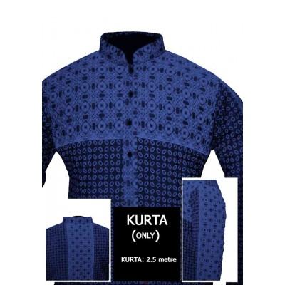 Un-stitched Kurta ONLY HJ Style D-107