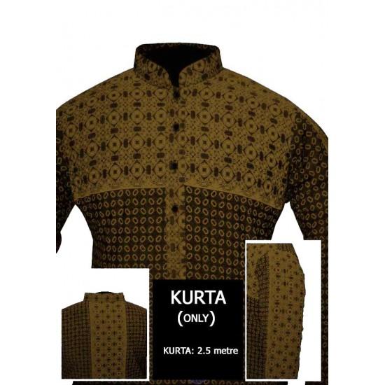 Un-stitched Kurta ONLY HJ Style D-108