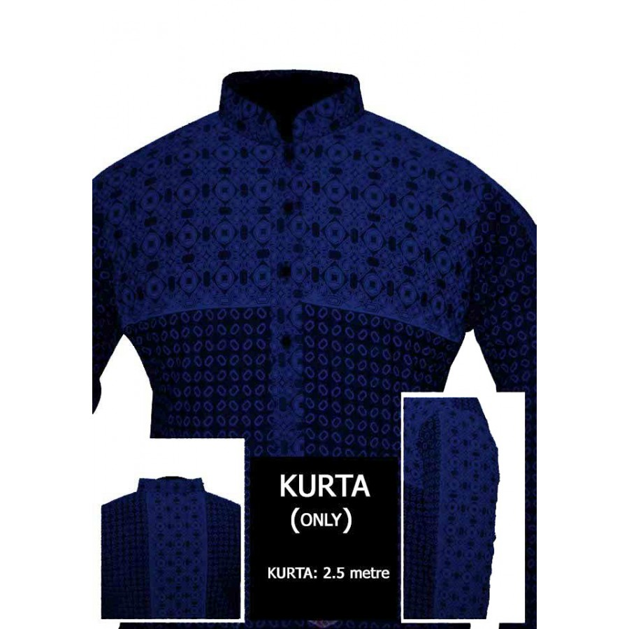 Un-stitched Kurta ONLY HJ Style D-110