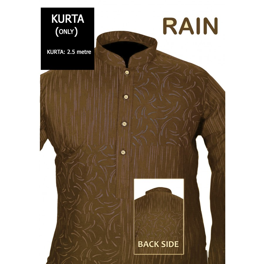Un-stitched Kurta ONLY HJ Style D-111