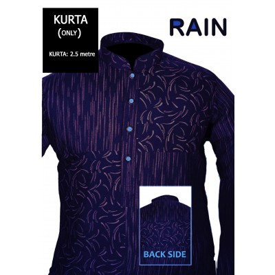 Un-stitched Kurta ONLY HJ Style D-113