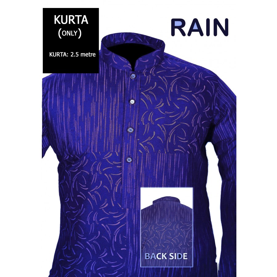 Un-stitched Kurta ONLY HJ Style D-115