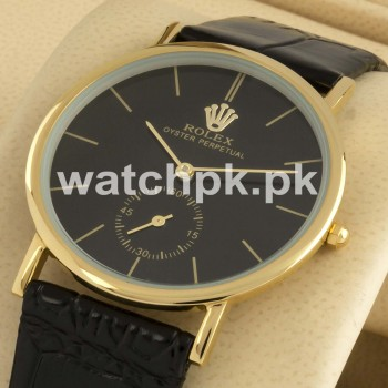 Rolex Classic Thinline - Golden Black