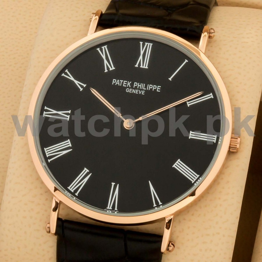 Patek Philippe Classic Thinline Black