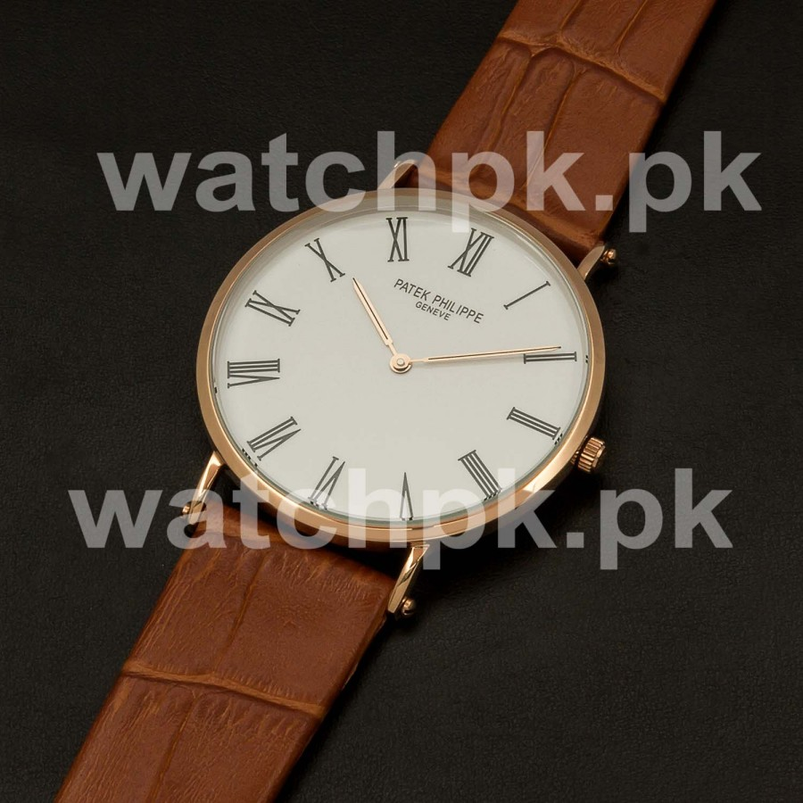 Patek Philippe Classic Thinline Brown