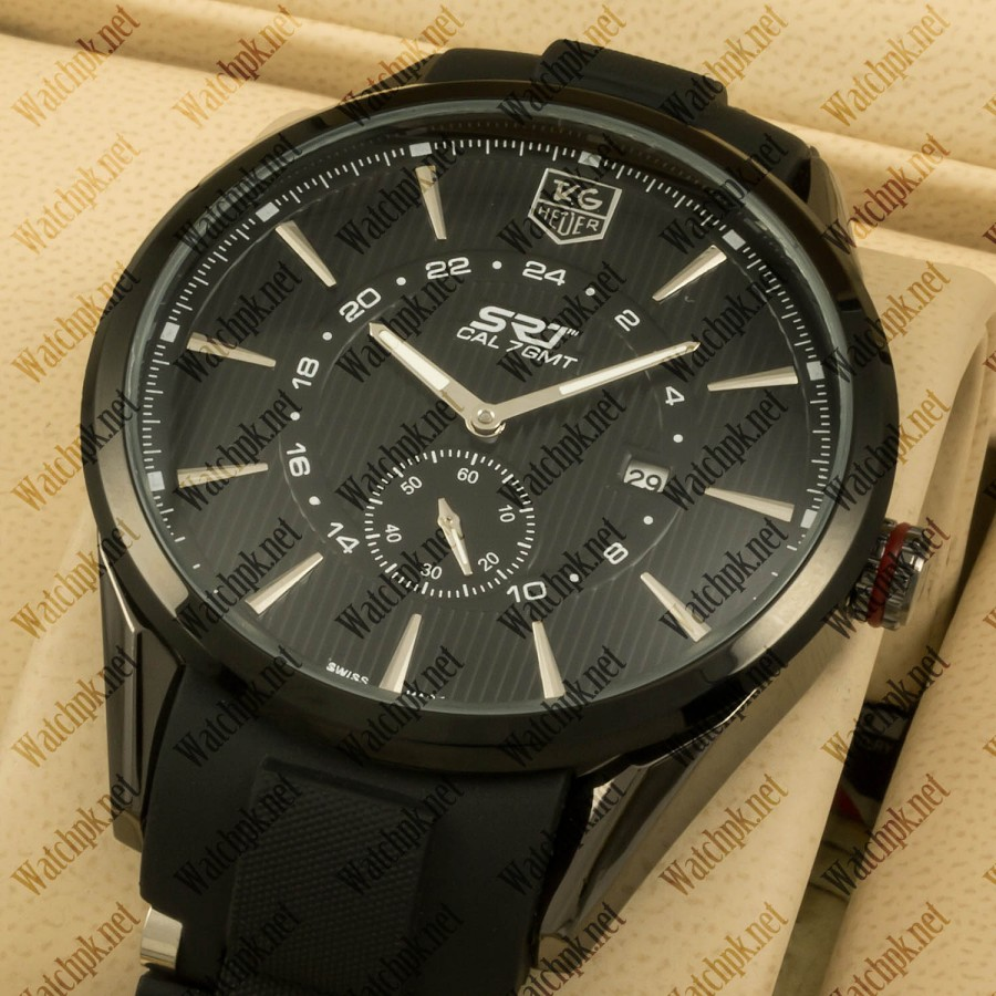 TAG Heuer Super Racing Team 7 GMT - Full Black