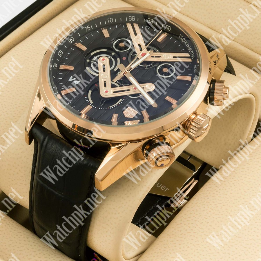 TAG Heuer V4 Gold Special Limited Edition