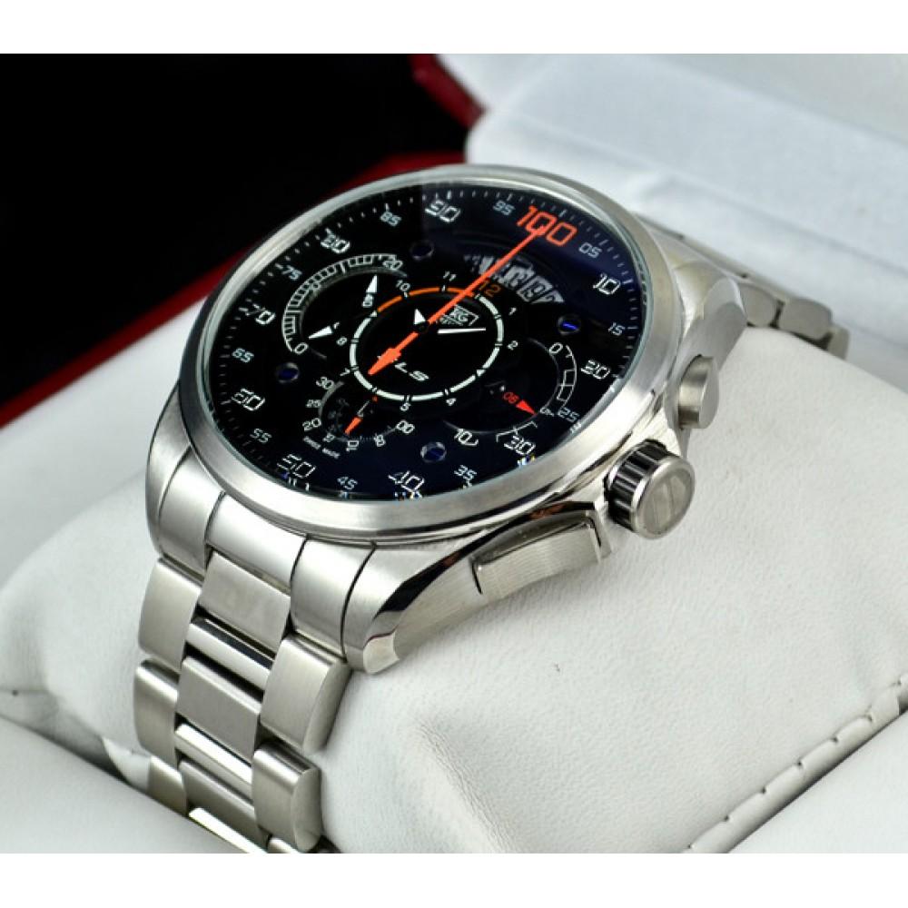 Watches For Men : TAG Heuer Mercedes Benz SLS 100 Black