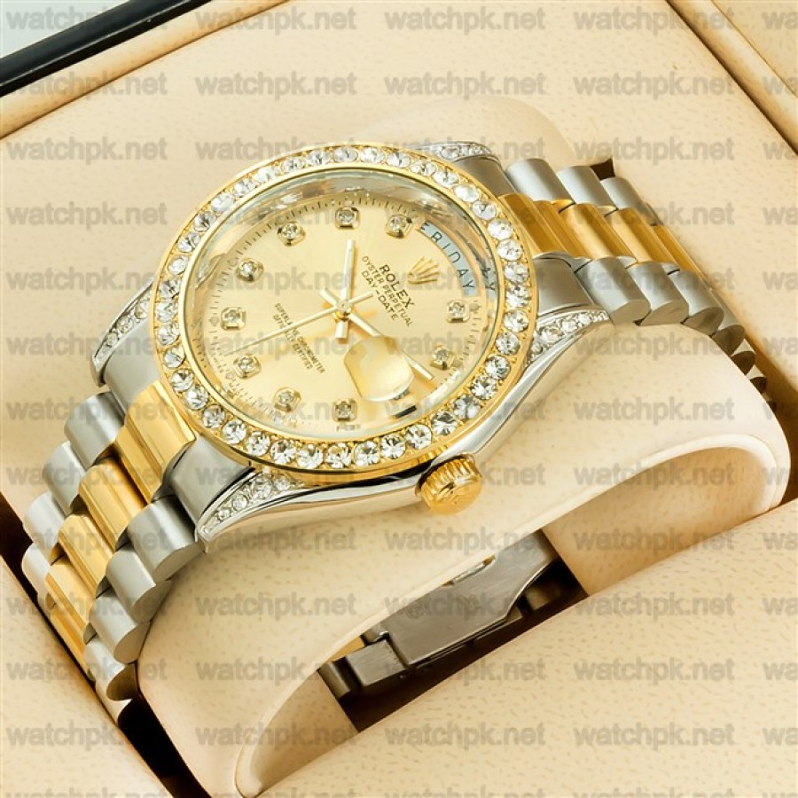 Rolex Oyester Perpetual Day Date II - Diamonds Gold