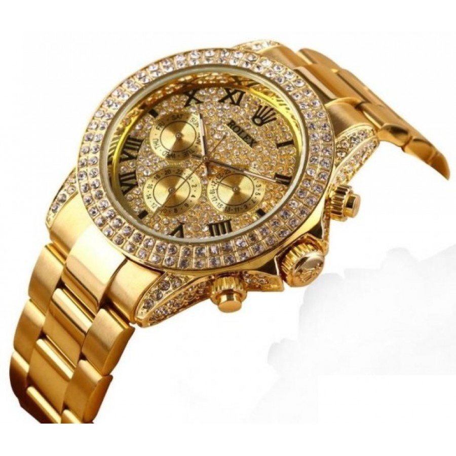 Rolex Cosmograph Daytona Gold - Diamonds