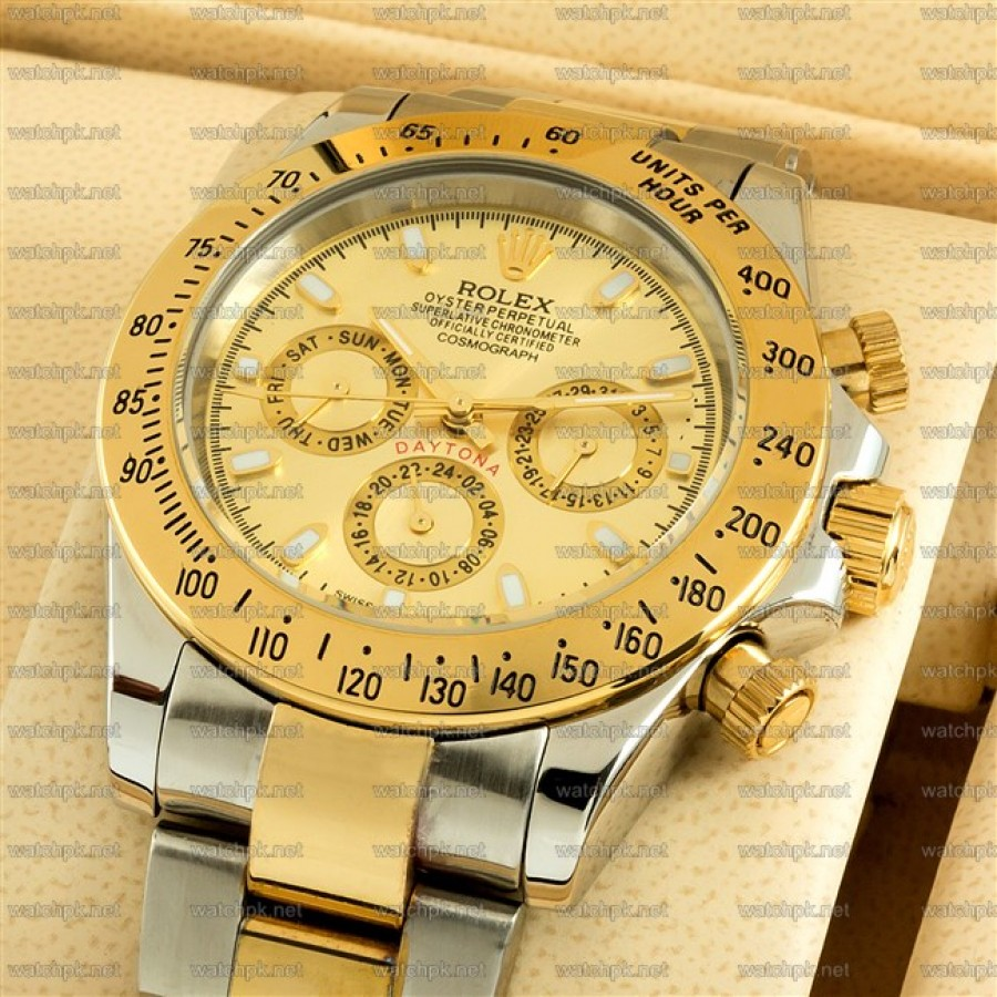 Rolex Cosmograph Gold and Steel Edition
