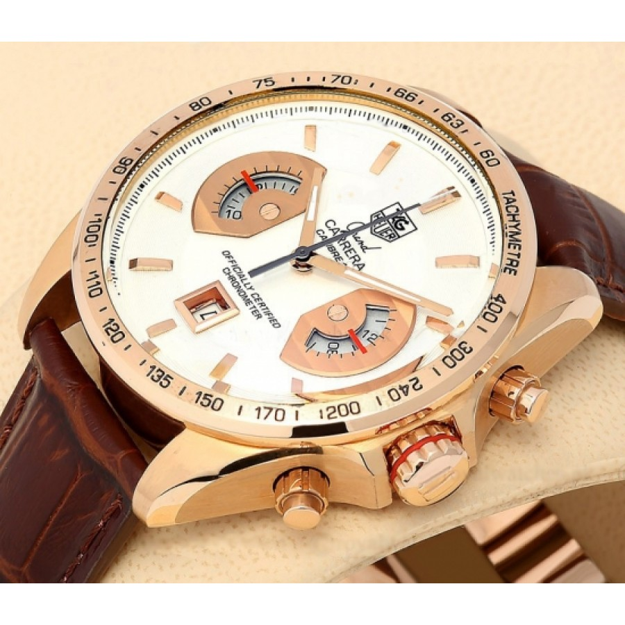 Tag Heuer Grand Carrera Calibre 17 Whtie Rose
