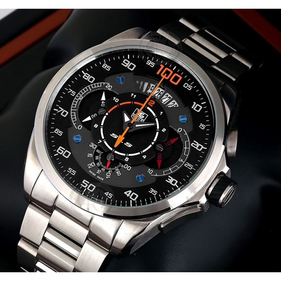 TAG Heuer Mercedes Benz SLS 100 Black Silver - Limited Edition
