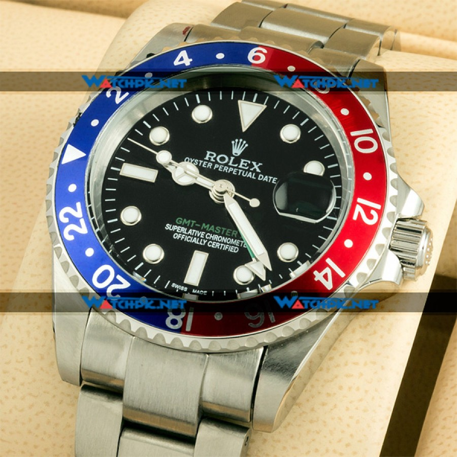 Rolex GMT Master II - Red & Blue