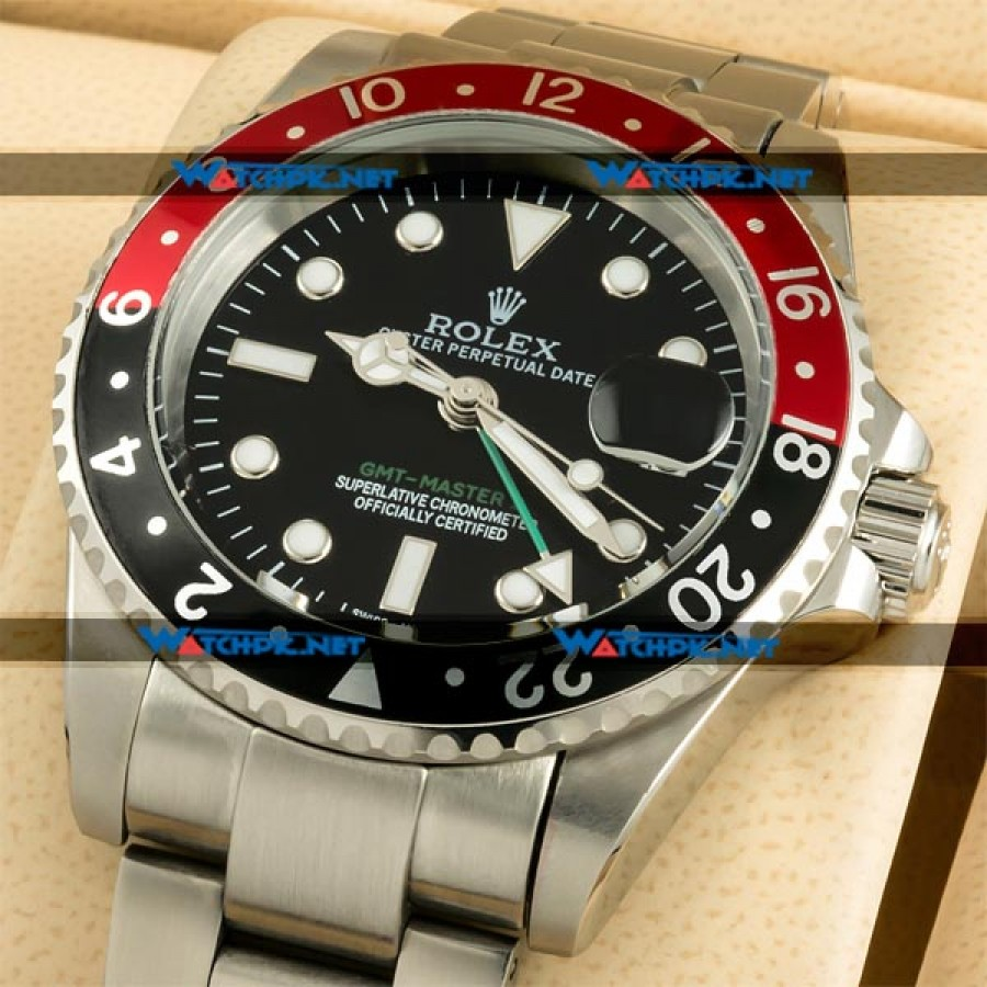 Rolex GMT Master II - Red & Black