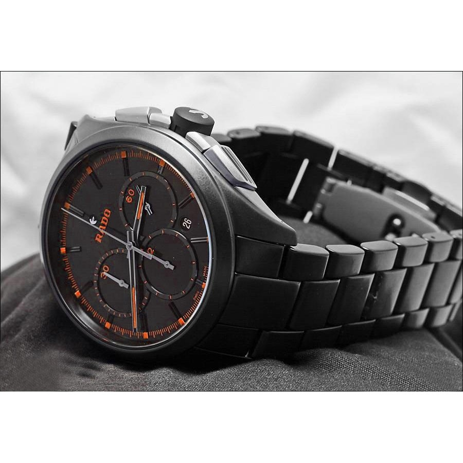 Rado Hyperchrome XXL - Orange Quartz