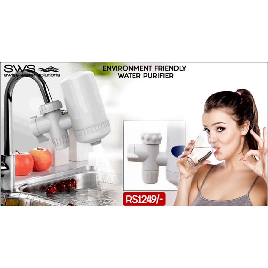 Sws Environment Friendly Water Filter @ Rs 1249/-