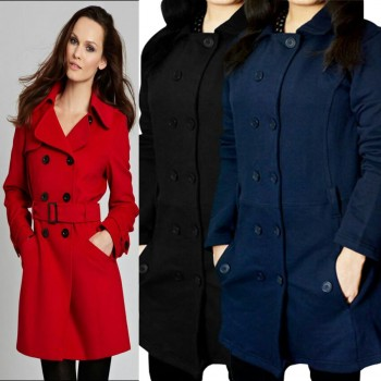 Stylish Multi Button Coat for Her