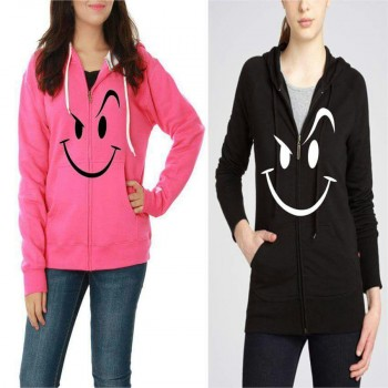 Pack of Two Printed Stylish Hoodie For Her