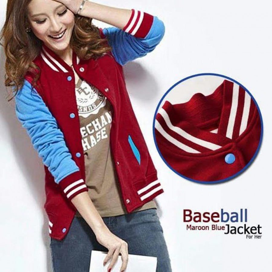 Stylish Baseball Hoodie For Her