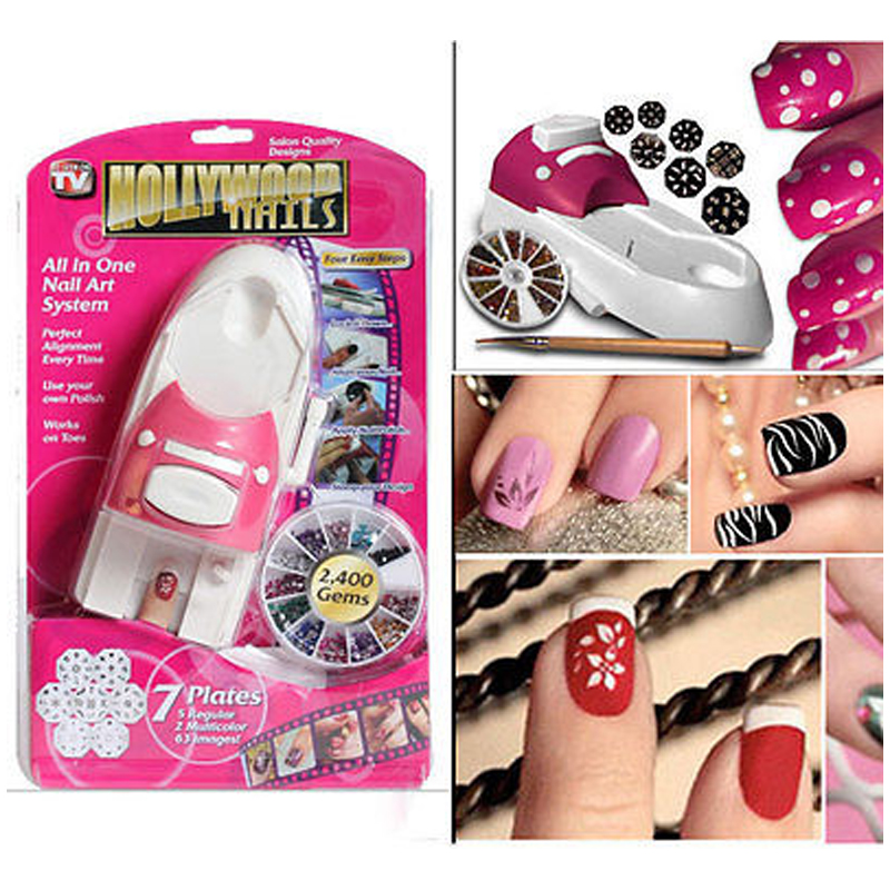 Tv Products Hollywood Nails All In One Nail Art System