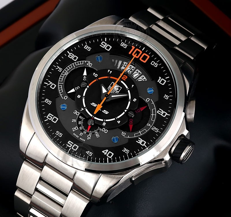 Watches for men tag heuer mercedes benz sls 100 copper for Tag heuer grand carrera mercedes benz sls limited edition price